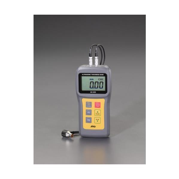 ※法人専用品※エスコ(esco) 0.8-200mm 超音波厚さ計 EA706X-3 1個