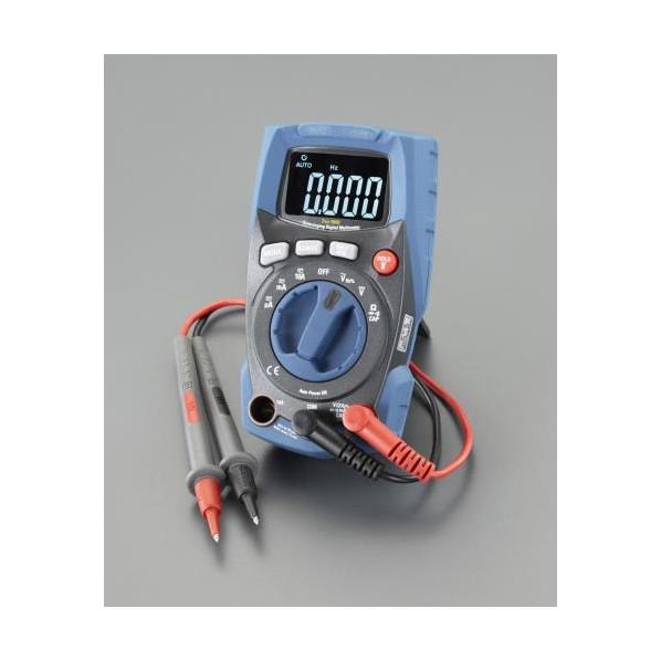※法人専用品※エスコ(esco) デジタルマルチテスター(防塵・防水型) EA707BB-14 1個