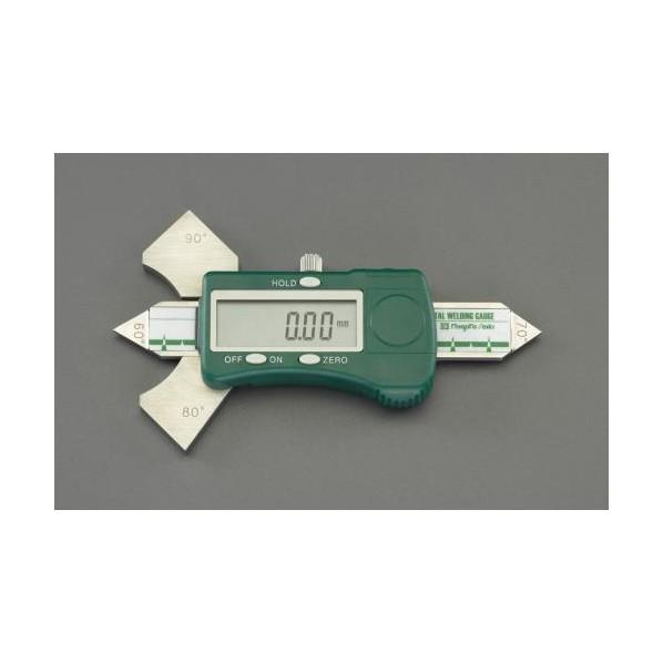 エスコ(esco) デジタル溶接ゲージ EA719K-40 1個