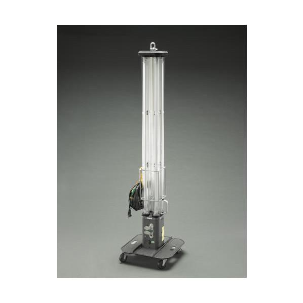 エスコ(esco) AC100V/ 72W 作業灯/LED(キャスター付) EA814EL-10 1個
