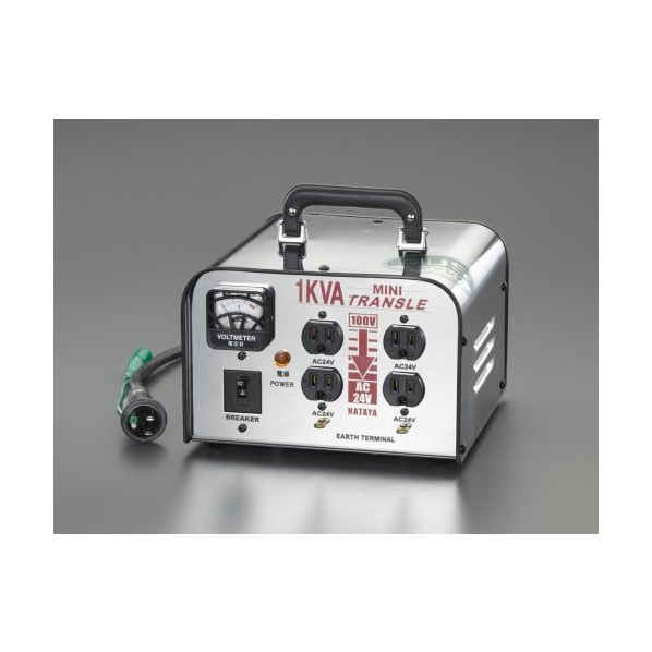 エスコ(esco) AC100V→AC 24V 降圧トランス EA815ZB-5 1個