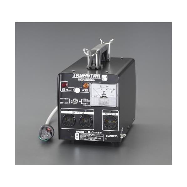 エスコ(esco) AC100-200→AC230-100V 昇圧・降圧トランス EA815ZJ-1 1個