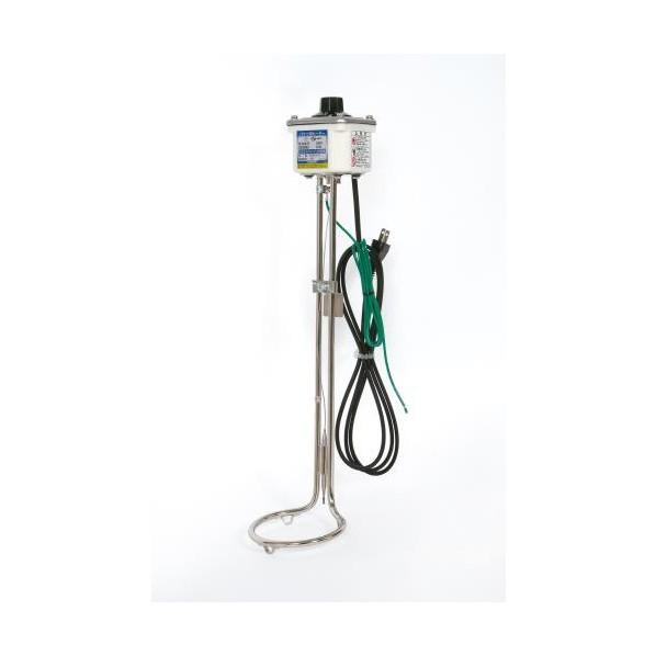 エスコ(esco) AC100V/1.0kW バケツ用投込みヒーター(温調付) EA896AH-5 1個