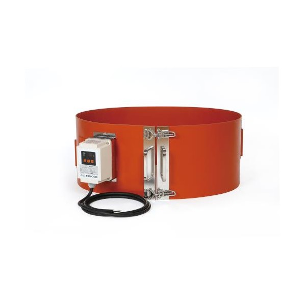 エスコ(esco) 200V・2000W ラバーヒーター(ドラム缶用) EA896HC-1 1個