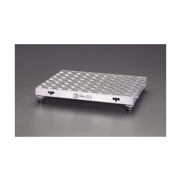 エスコ(esco) 600x450mm/0.12m 低床作業台(伸縮調整脚) EA903BT-2 1個