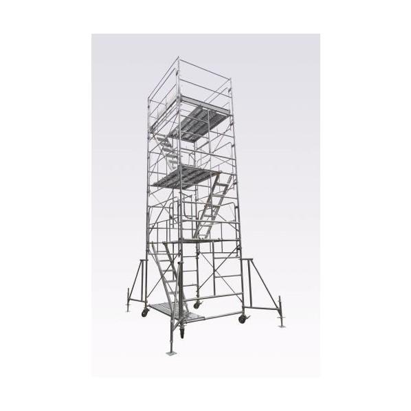 エスコ(esco) 3.49m ローリングタワー(鋼製) EA905DS-12 1個