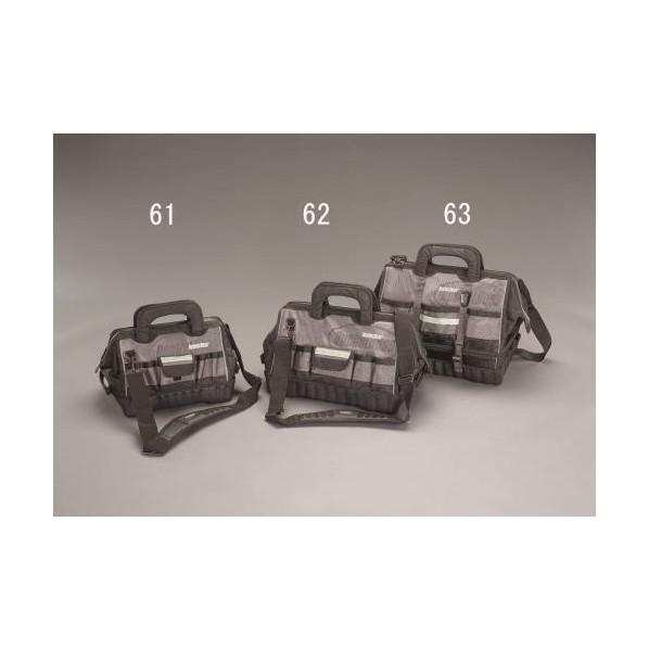 エスコ(esco) 355x254x279mm ツールバッグ(反射付/1680デニール) EA925MG-61 1個