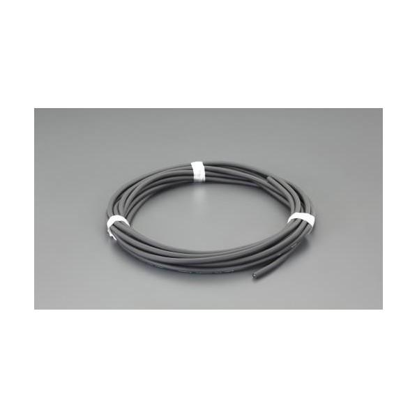 エスコ(esco) 5.5 mm2x15m/2芯 ビニールキャブタイヤケーブル EA940AG-519 1個