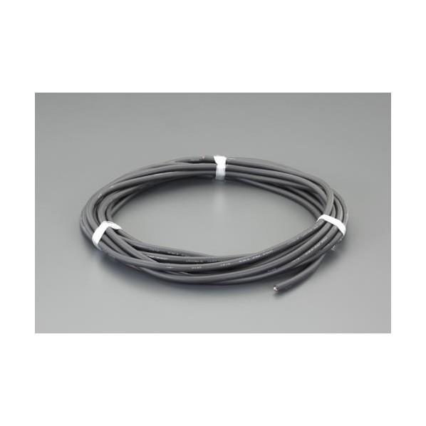 エスコ(esco) 5.5 mm2x15m/3芯 ビニールキャブタイヤケーブル EA940AG-549 1個