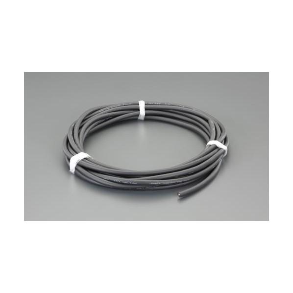 エスコ(esco) 5.5 mm2x20m/4芯 ビニールキャブタイヤケーブル EA940AG-580 1個