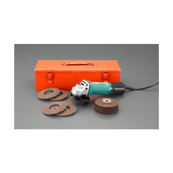 ※法人専用品※エスコ(esco) 100mm/ 790W ディスクグラインダーセット EA809BB-10D 1個