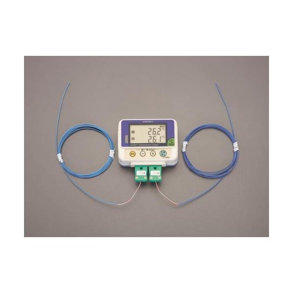 ※法人専用品※エスコ(esco) [熱電対]温度データロガー EA742HB-10A 1個