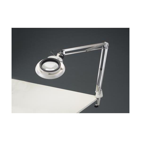 ※法人専用品※エスコ(esco) x3.0/130mm 拡大鏡(LED照明付) EA756TB-2B 1個