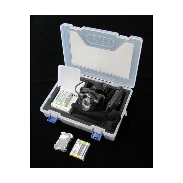 エスコ(esco) [単3x3本] ヘッドライト/LED(充電池セット) EA758RX-803A 1個