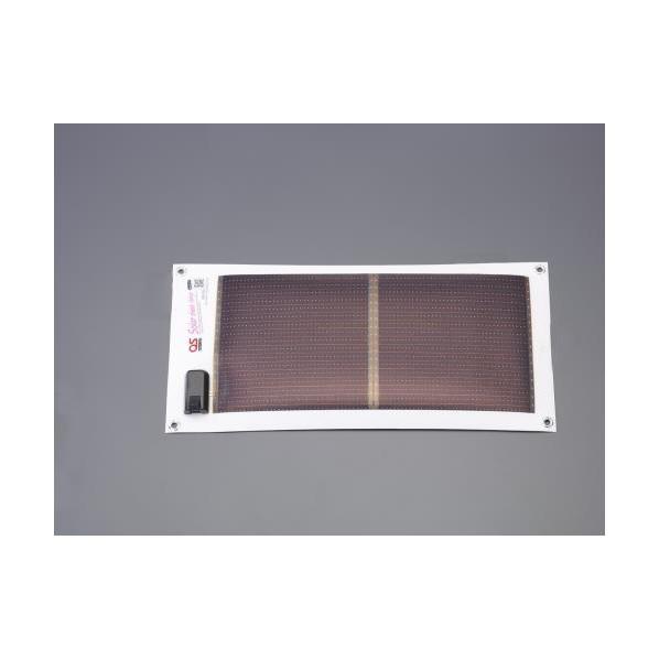 ※法人専用品※エスコ(esco) 10.8W ソーラー式バッテリーチャージャー EA758YK-33 1個