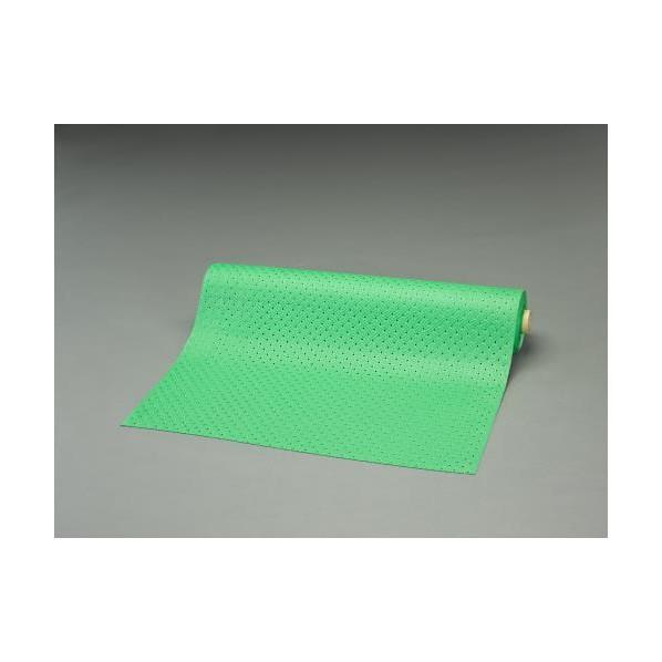 エスコ(esco) 0.92x10m /3.2mm ノンスリップマット(縞鋼板/緑) EA997RA-90 1個