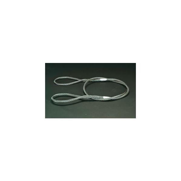 出産祝い エスコ(esco) 1本:DIY SHOP EA981WL-20 10m ONLINE FACTORY ワイヤースリング 26mmx-DIY・工具
