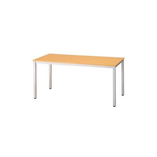 エスコ(esco) 1500x750x700mm ミーティングテーブル(ナチュラル) EA954HC-221 1個