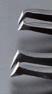 エスコ [カーボン/S製]カッティングピンセット 115mm (EA595AL-26)