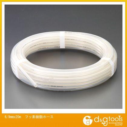 エスコ フッ素樹脂ホース (EA125FA-9)