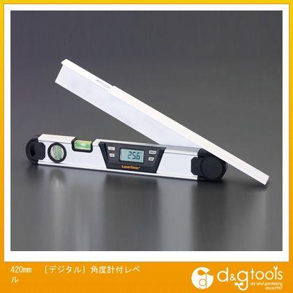 エスコ 420mm[デジタル]角度計付レベル (EA721LA-1)