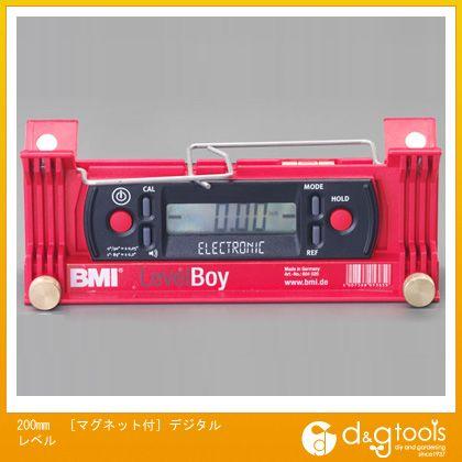 エスコ 200mm[マグネット付]デジタルレベル (EA735EM-20)