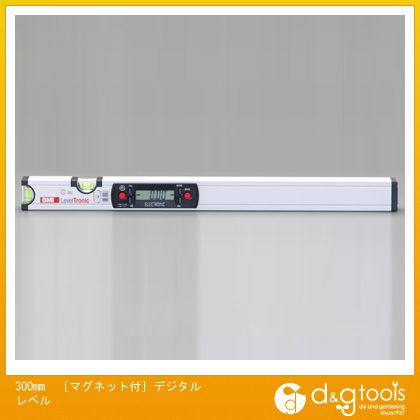 エスコ 300mm[マグネット付]デジタルレベル (EA735EM-30)