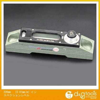 ※法人専用品※エスコ 200mm[0.01mm/M]インスペクションレベル EA735M-12