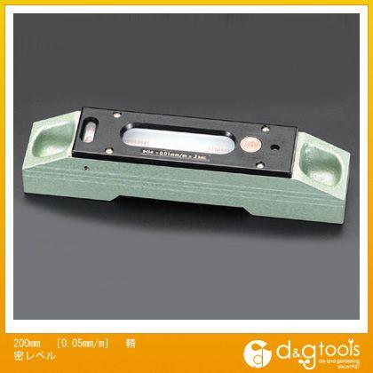 エスコ 200mm[0.05mm/M]精密レベル (EA735M-32)
