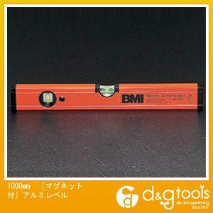 エスコ 1000mm[マグネット付]アルミレベル (EA735MB-100)