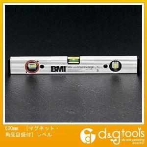 エスコ 600mm[マグネット・角度目盛付]レベル (EA735ME-60)