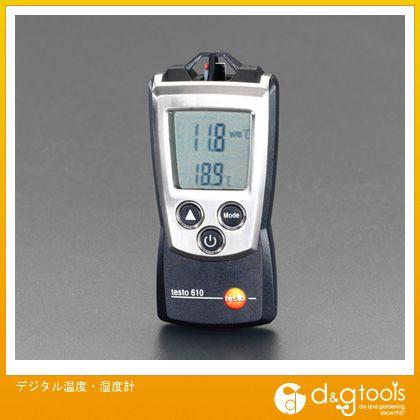 エスコ デジタル温度・湿度計 (EA742EA-3)