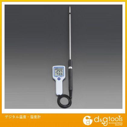 エスコ デジタル温度・湿度計 (EA742GK-10)