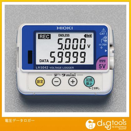 エスコ 電圧データロガー (EA742HD-3)
