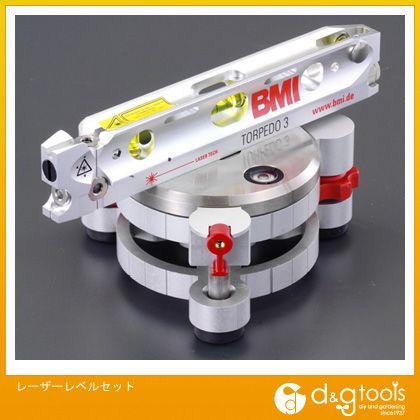 エスコ レーザーレベルセット (EA780AC) レーザーレベル 水準器 平行 水平器 水平機 水準機