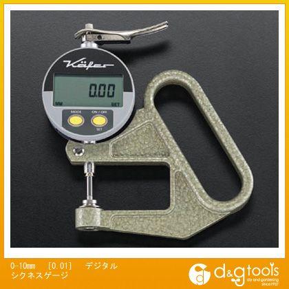 激安先着 0-10mm (EA725A-51):DIY FACTORY [0.01]デジタルシクネスゲージ エスコ SHOP ONLINE-DIY・工具
