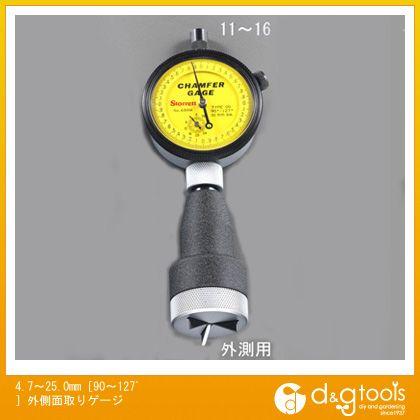 エスコ [90?127゚]外側面取りゲージ 4.7?25.0mm (EA725AA-15)
