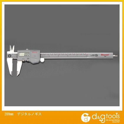 エスコ デジタルノギス 200mm (EA725DB-200) ノギス