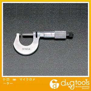 【正規品直輸入】 エスコ ONLINE (EA725E-25) 0-25mm マイクロメーター マイクロ マイクロメータ:DIY マイクロメーター SHOP FACTORY-DIY・工具