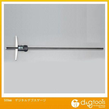 エスコ デジタルデプスゲージ 500mm (EA725FC-12)