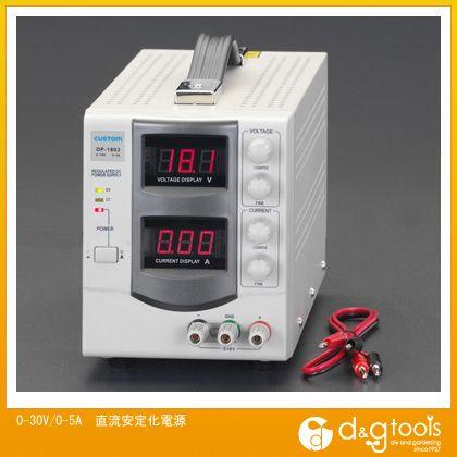エスコ 0-30V/0-5A直流安定化電源 (EA812-13)