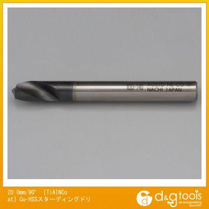 エスコ 20.0mm /90°[TiAINCoat]Co-HSSスターディングドリ (EA824PC-20A)