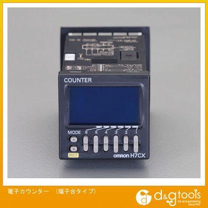 エスコ 電子カウンター(端子台タイプ) (EA940LJ-1)