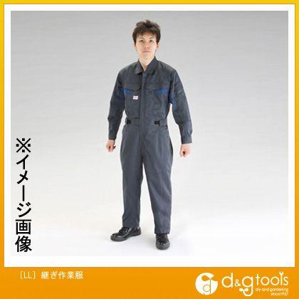 エスコ [LL]継ぎ作業服 (EA996AG-3)