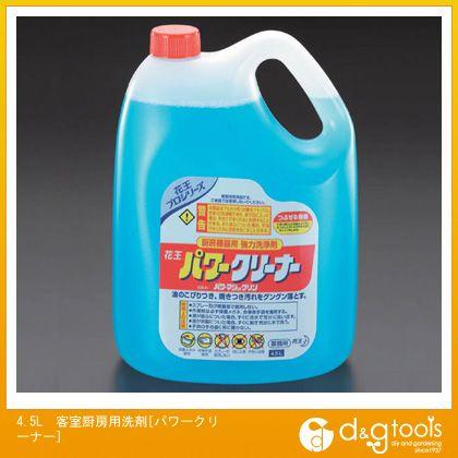 エスコ 4.5L客室厨房用洗剤[パワークリーナー] (EA922KA-9)