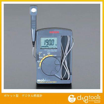 エスコ ポケット型デジタル照度計 (EA712B-11)