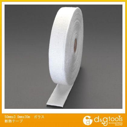 エスコ 50mmx3.0mmx30mガラス断熱テープ (EA944MH-38)