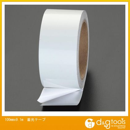 エスコ 100mmx9.1m蓄光テープ (EA983G-54)