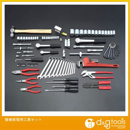 エスコ 機械修理用工具セット (EA18) ESCO 工具セット 工具セット