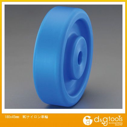 エスコ 180x45mmMCナイロン車輪 (EA986WA-180)
